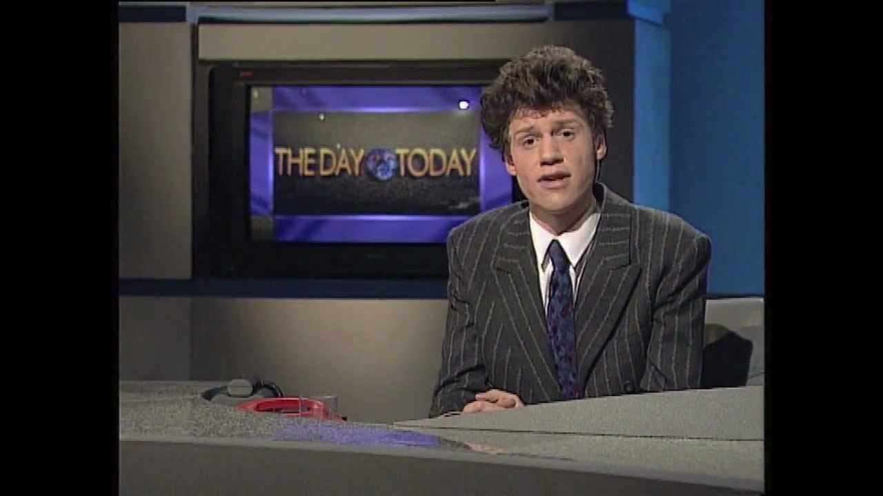 Chris Morris on a pilot for The Day Today