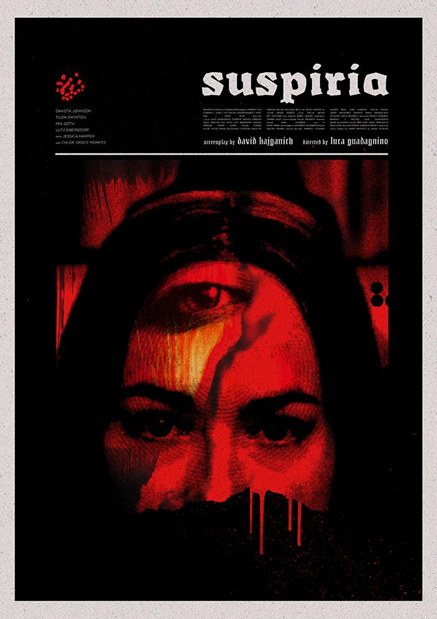 Suspiria Poster by Matt Needle