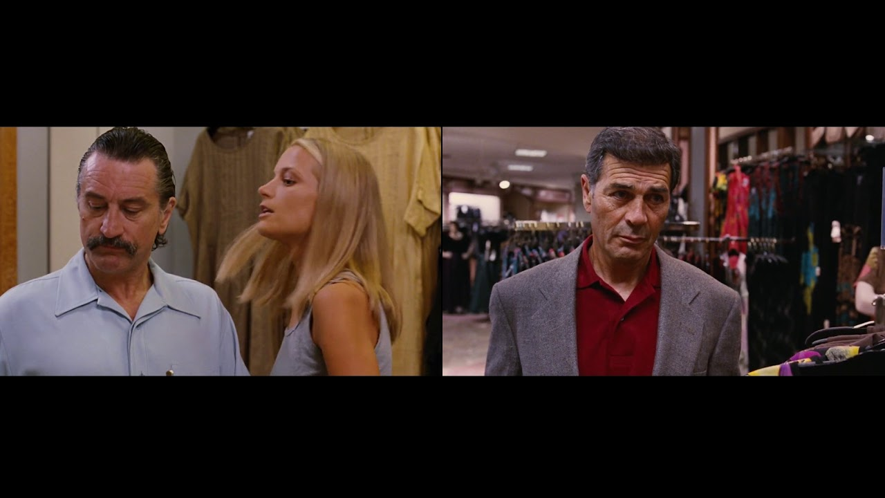The fitting room scene from Jackie Brown synced up