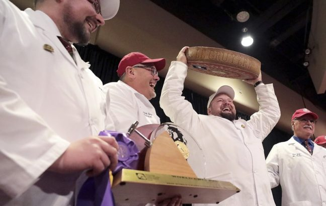 Swiss gruyère wins World Championship Cheese Contest in Wisconsin