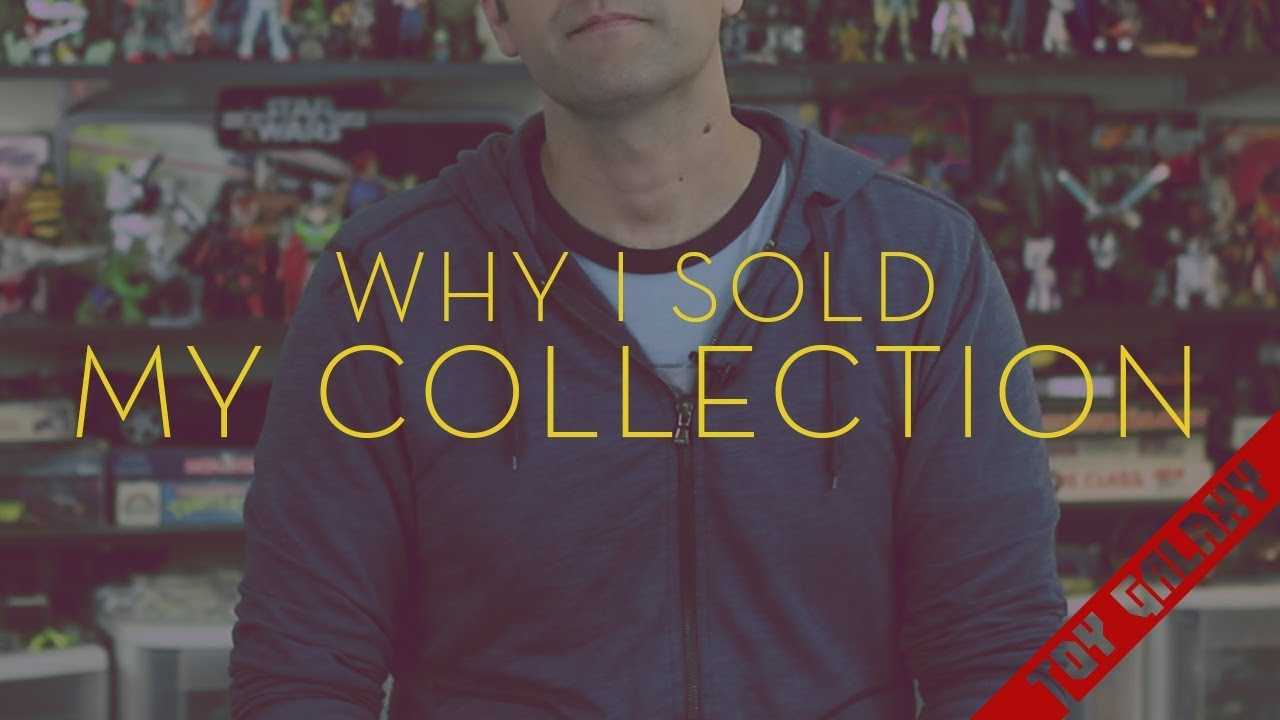 Why Dan Larson sold his toy collection