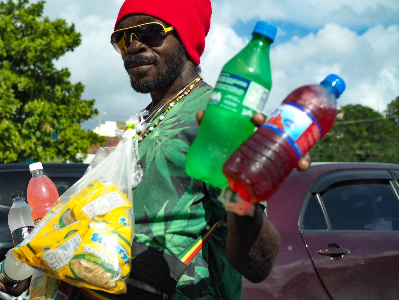 Black Jamaican Man