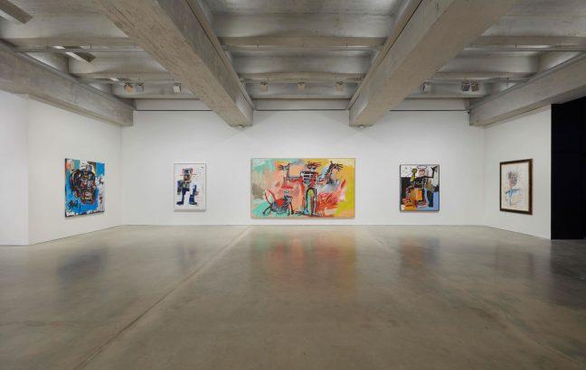 Basquiat exhibit