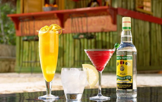 Wray & Nephew's, one of the most famous Jamaican rum brands on the planet