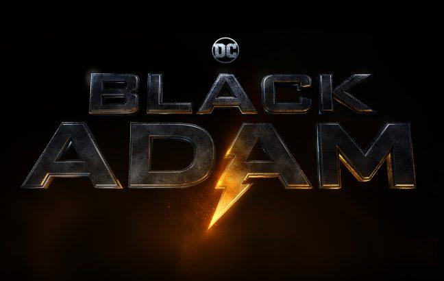 black adam film poster
