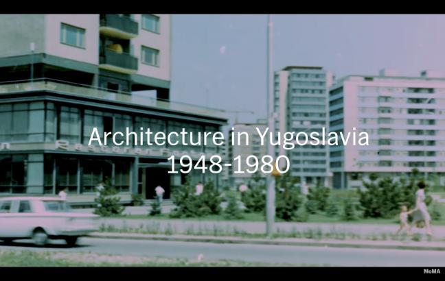 Architecture in Yugoslavia, 1948-1980