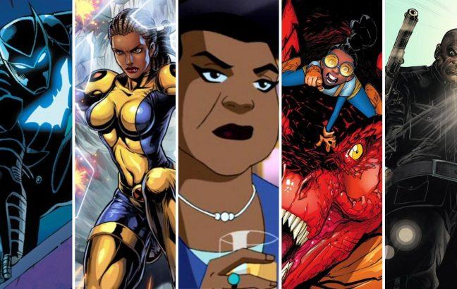 5 Black superheroes