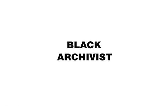 Black Archivist