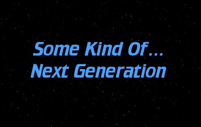 some kind of Star Trek: The Next Generation supercut